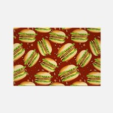 Burgers Baby Rectangle Magnet (10 pack)