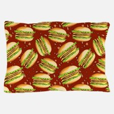 Burgers Baby Pillow Case