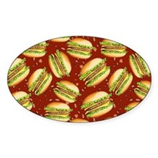 Burgers Baby Decal