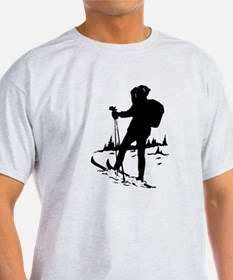 Cross Country Skier T-Shirt