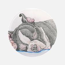 """Boston Terrier Puppy Dog 3.5"""" Button (100 pack)"""