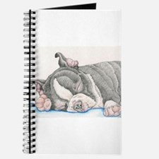 Boston Terrier Puppy Dog Journal