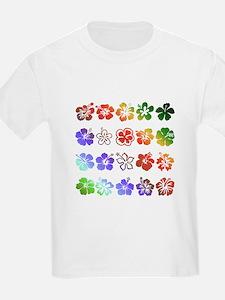 Hibiscus Rainbow T-Shirt