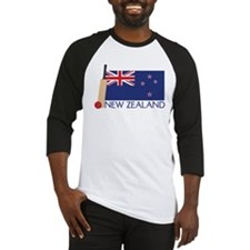 New Zealand Cricket Baseball Jersey