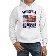 Merica Back to Back World War Ch Hoodie
