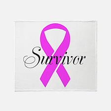 Survivor2 Throw Blanket