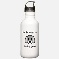 7 dog years 2 Water Bottle