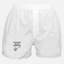 Country Music Forever Boxer Shorts