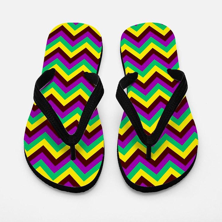 Zig-a-Zig-Ah Flip Flops
