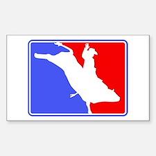 Bull Rider (Major League) Rectangle Decal