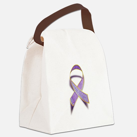 Uplifting-Change Canvas Lunch Bag
