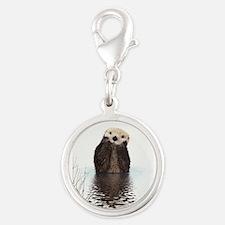 Bashful Sea Otter Charms