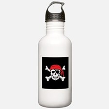 Jolly Roger Pirate (on Water Bottle