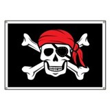 Jolly roger pirate Banners