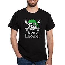 Irish Pirate - Arrr Laddie! T-Shirt