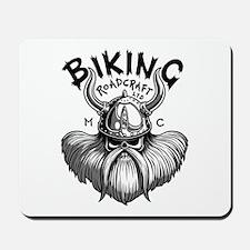 Biking Viking Mousepad