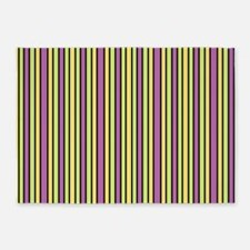 Striped Event 5'x7'Area Rug