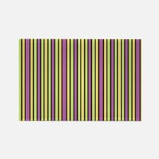 Striped Event Rectangle Magnet (10 pack)