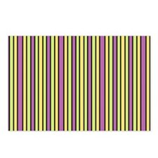 Striped Event Postcards (Package of 8)