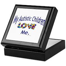My Autistic Children Love Me Keepsake Box