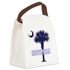 Greenville SC Canvas Lunch Bag