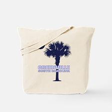 Greenville SC Tote Bag