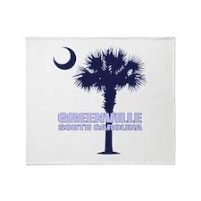 Greenville SC Throw Blanket