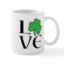 Celtic Love Shamrock Mugs