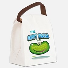 The Happy Pickle Canvas Lunch Bag