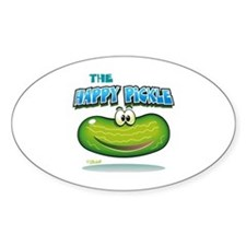 The Happy Pickle Decal