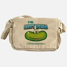 The Happy Pickle Messenger Bag