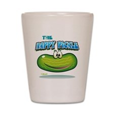 The Happy Pickle Shot Glass