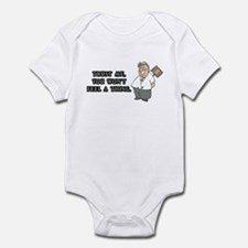 Surgeon or Anesthesiologist Infant Bodysuit