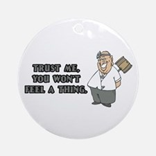Surgeon or Anesthesiologist Ornament (Round)