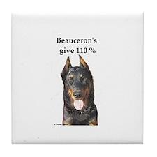 Beaucerons 110% Tile Coaster