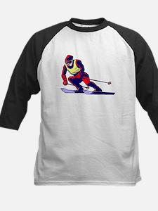 Ski Racer Baseball Jersey