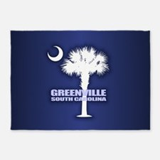 Greenville SC 5'x7'Area Rug