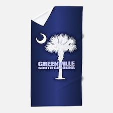 Greenville SC Beach Towel
