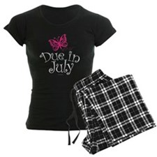 Due in July Maternity Butter Pajamas