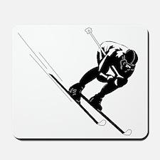 Ski Racer Mousepad