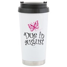 Due in August Butterfly Travel Mug