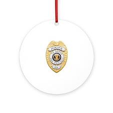 badge1.JPG Ornament (Round)