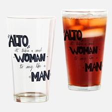 Unique Acapella Drinking Glass