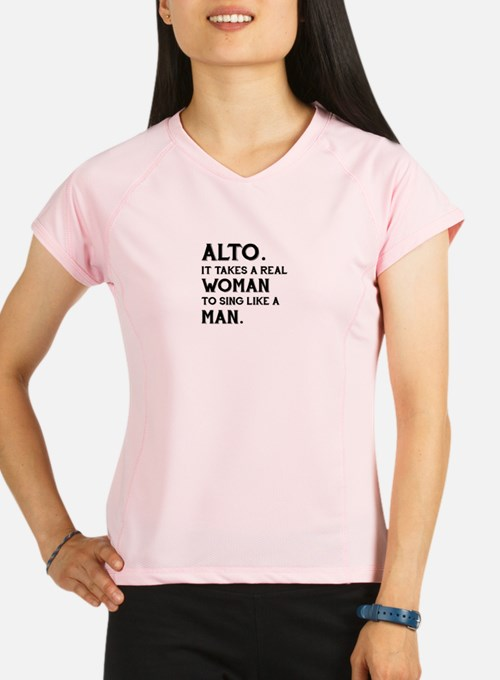 Cute Acapella Performance Dry T-Shirt