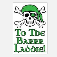 Irish Pirate - To The Bar Postcards (Package of 8)