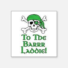 Irish Pirate - To The Barrr La Sticker