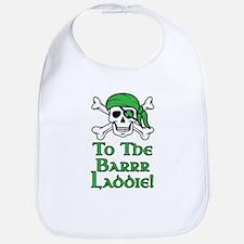 Irish Pirate - To The Barrr Laddie! Bib