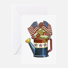 This Old Watering Can Greeting Card