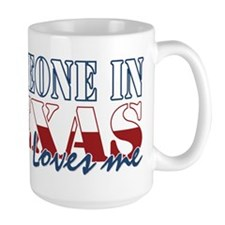Someone in Texas Mug