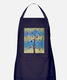 Unique Bird Apron (dark)